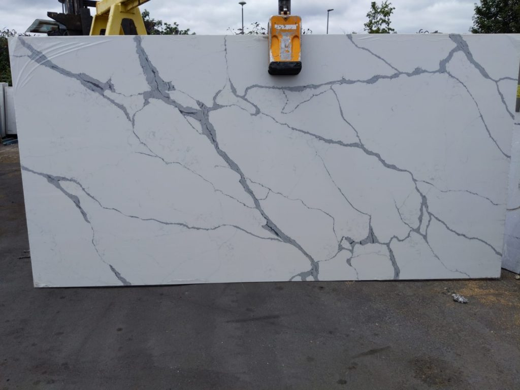 Calacatta Quartz Slab from The Beauty of Marble Limited